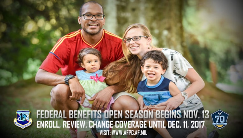 Federal benefits Open Season begins Nov. 13; enroll, review, change coverage until Dec. 11, 2017