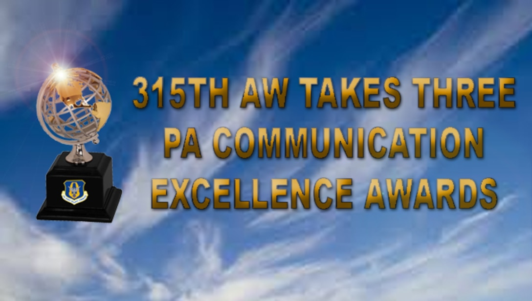 315TH AW takes multiple PA communication excellence awards