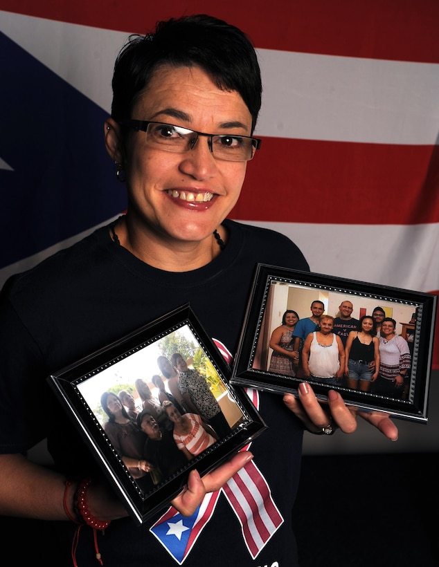 A photo depicting Lourdes Rivera, 19th Airlift Wing Child Development Center employee at Little Rock Air Force Base, Ark.