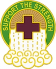 865th Combat Support Hospital shield