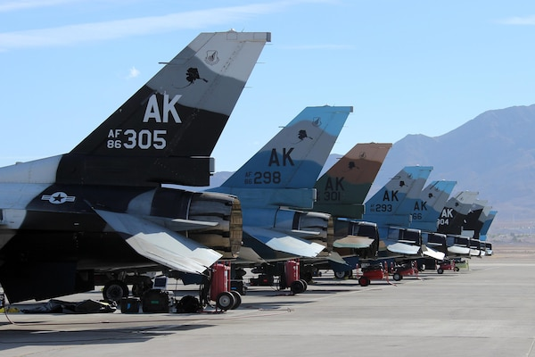 Alaskan Jets Fly South for the Winter