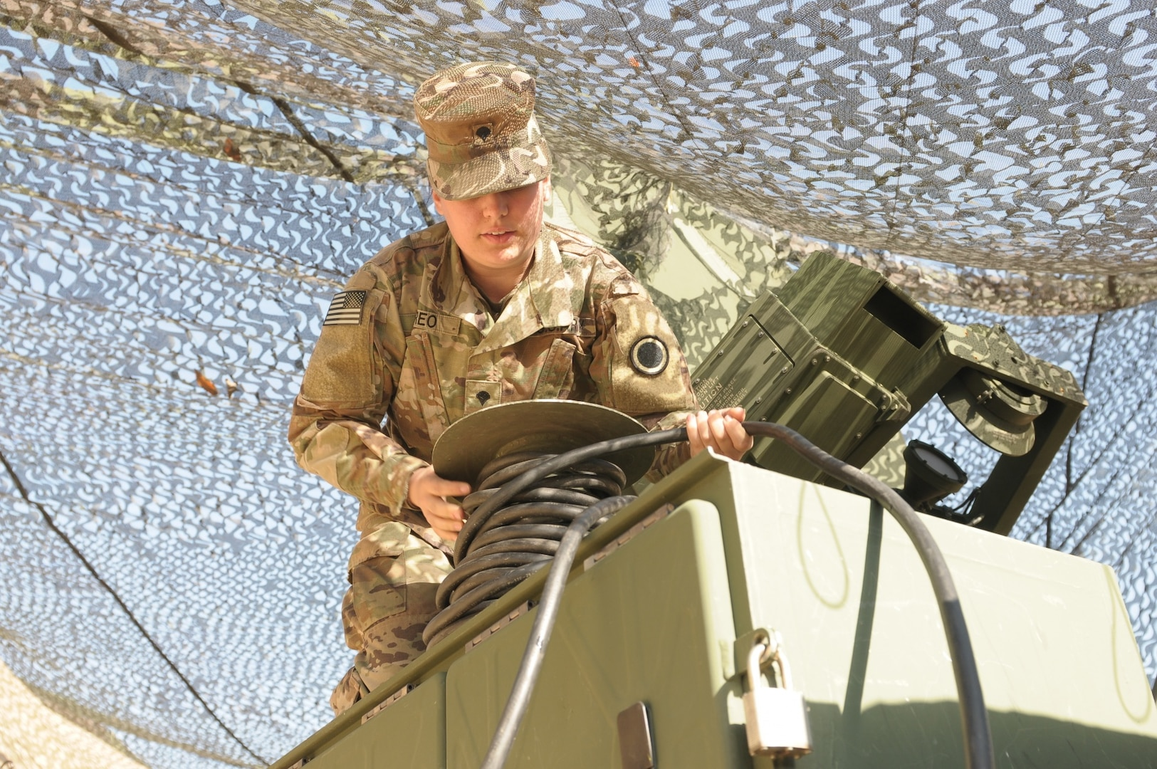 I Corps signal and communications team enables the mission