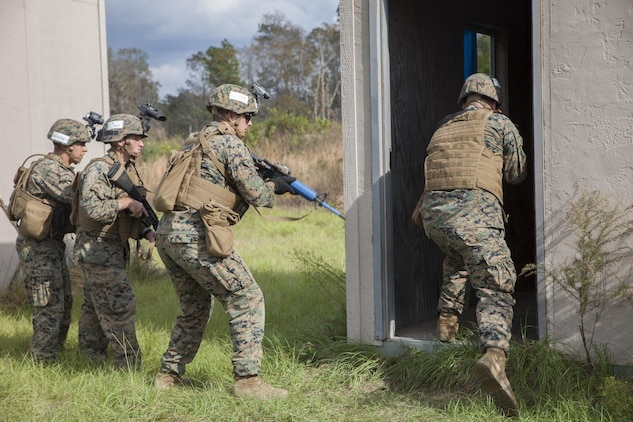 gulf coast hosts realistic military training raven marine corps