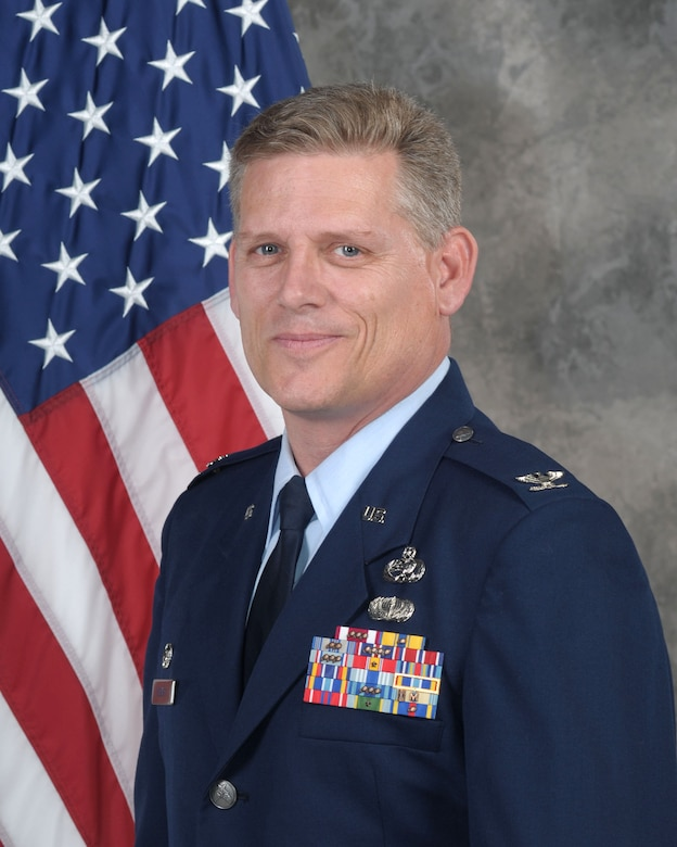 Col. Jeffrey Pickard, official photo, U.S. Air Force