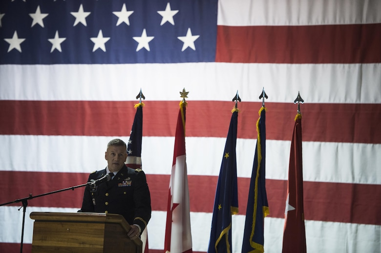 The Department of Military and Veterans Affairs has been hosting the public ceremony with the Alaska National Guard since 1998.