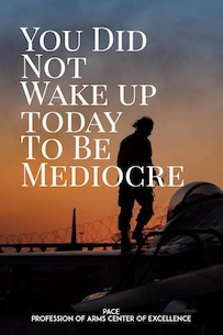 Quote of the Day: You did not wake up today to be mediocre