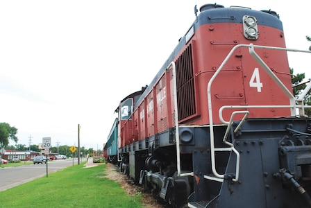 The Abilene and Smokey Valley Railroad is run by volunteers who operate a 10-mile excursion train ride through the Smoky Hill River Valley. It features a 100-year-old wooden coach dining car and other vintage equipment.
