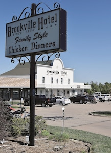 The Brookville Hotel was established in 1870 with a one entree menu. Today, the tradition still runs strong as the hotel specializes in fried chicken. Guests will take a historic stroll as waitresses, dressed in decade clothing, serve all with cottage cheese, coleslaw, homemade biscuits and much more.