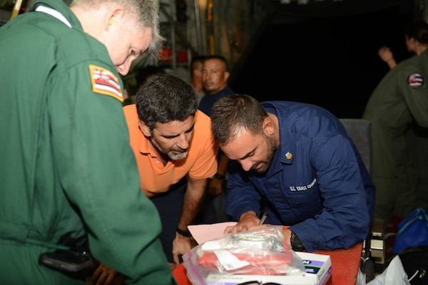 Coast Guard conducts long-range medevac for citizen of Ecuador from remote Pacific