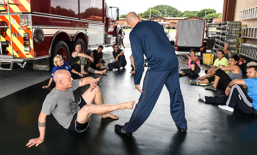 Army Support Activity teaches self-defense basics