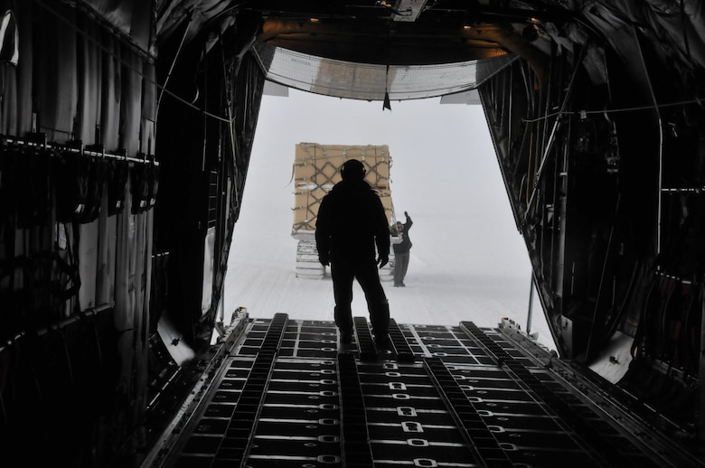 LC-130 aircrew completes South Pole mission despite extreme weather conditions