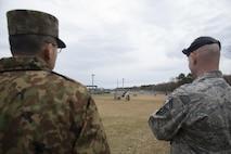 Misawa Airmen hosts JGSDF soldiers during bilateral exchange