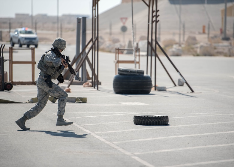 Al Udeid Air Base conducts Anti-Terrorism Force Protection Exercise