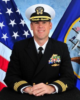 Cmdr. Brian Schultz, Supply Corps, United States Navy