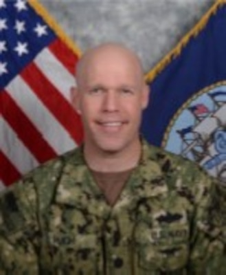 Cmdr. Troy Pugh, Supply Corps, United States Navy