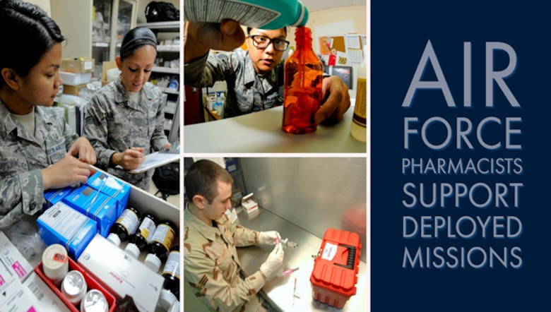 Air Force pharmacists support deployed missions > Joint Base