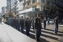 77th SB Marches in NYC Vets Day Parade
