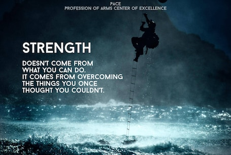Quote of the Day: Strength doesn't come from what you can do, it comes from overcoming the things you once thought you couldn't.