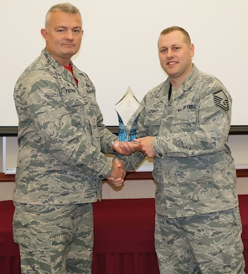 Stanbro Named ANG's Outstanding Cyber NCO