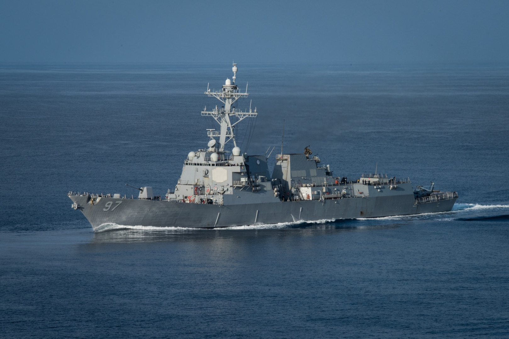 USS Halsey visits Guam during 7th Fleet operations