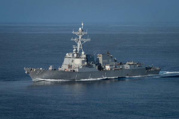 USS Halsey visits Guam during 7th Fleet operations