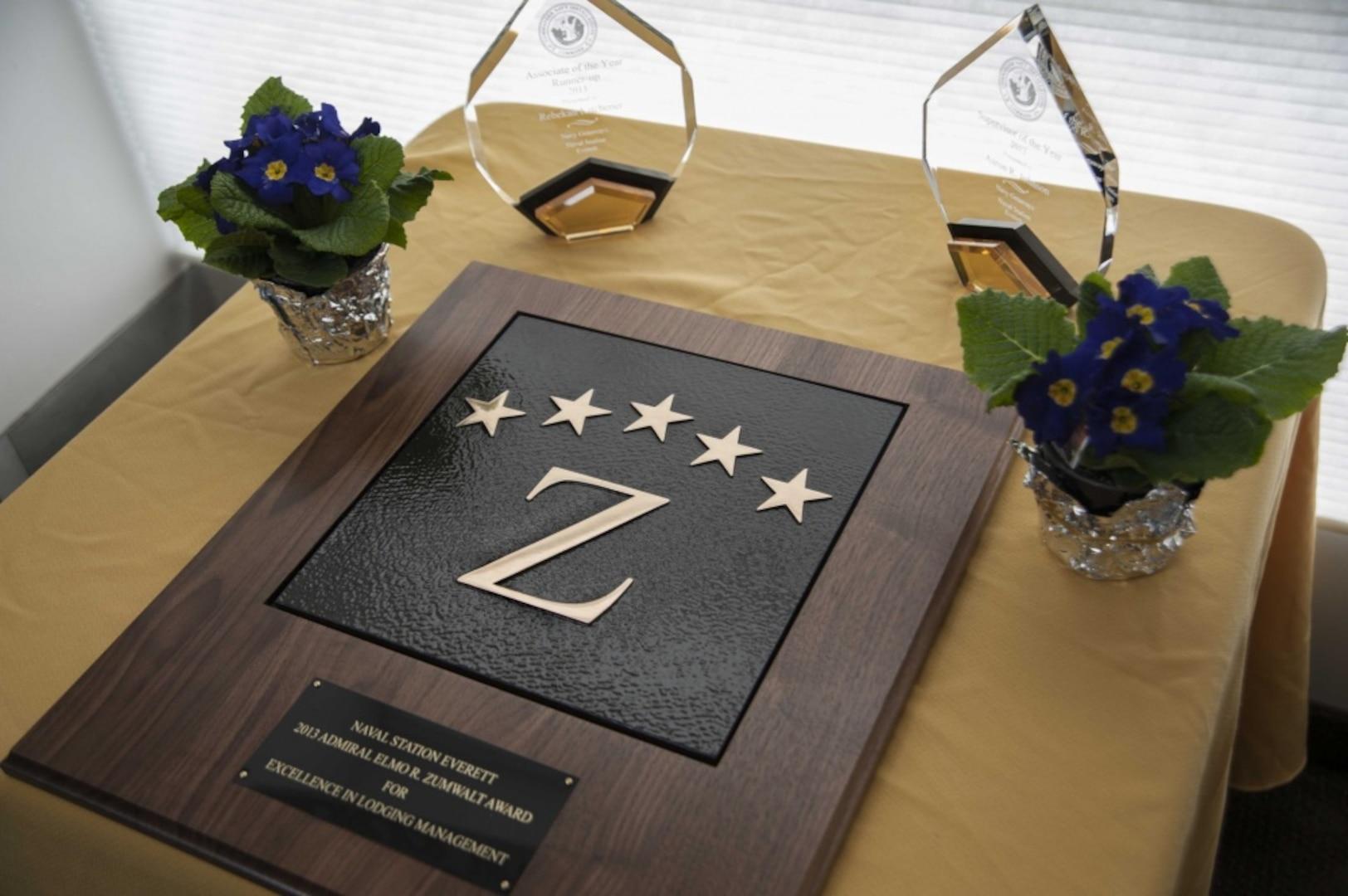 Naval Base Guam NGIS Receives Admiral Zumwalt Accreditation Award