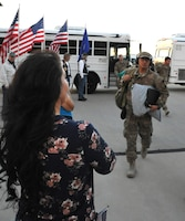 943rd Rescue Group Airmen return from deployment