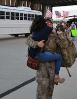 943rd Rescue Group Airmen return from deployment.