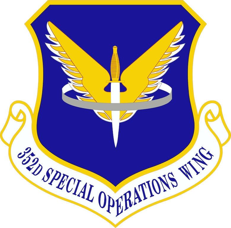352d Special Operations Wing Shield