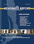 The front page of the November edition of the Readiness Report digital publication for Individual Reservists.