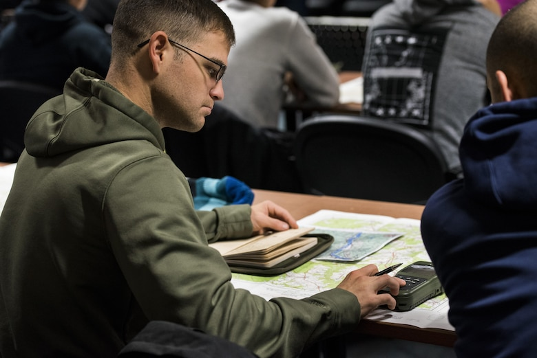 52nd SFS members keep current with land navigation training