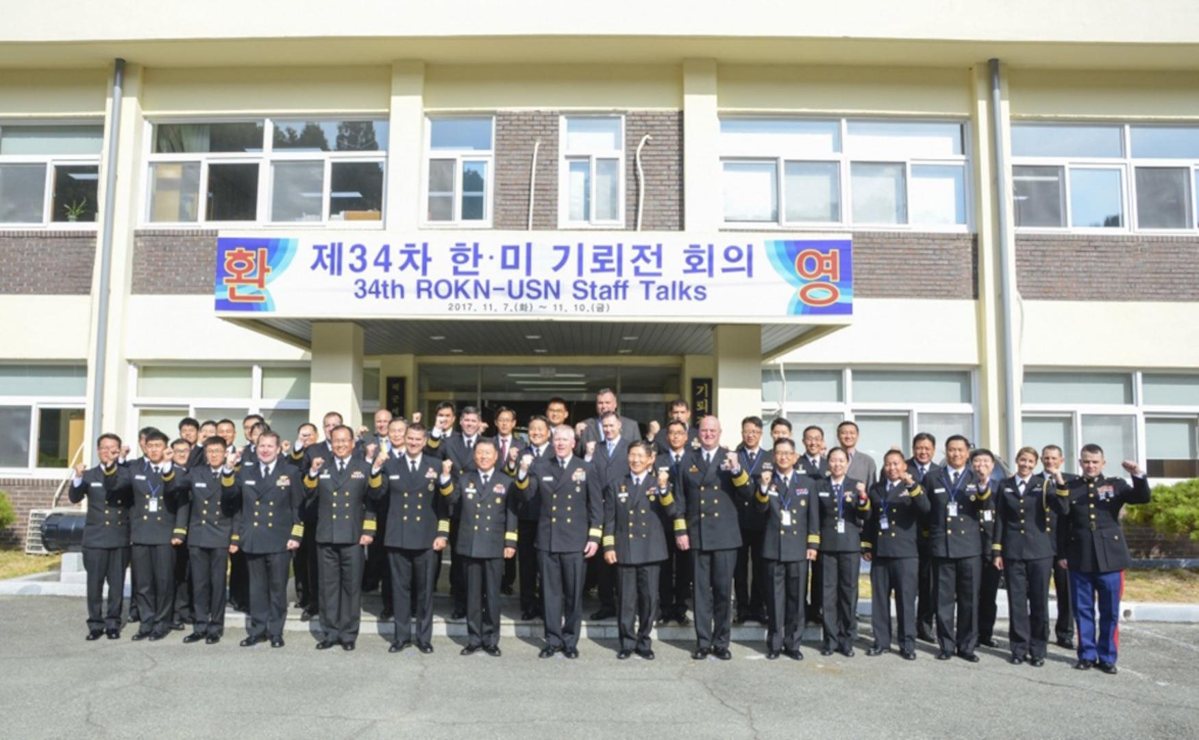 SMWDC Leads U.S. Effort for 34th Annual Combined Mine Warfare Staff Talks with Republic of Korea Navy