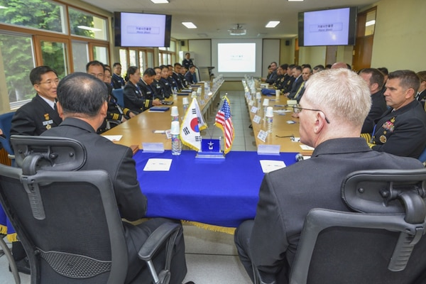 SMWDC Leads U.S. Effort for 34th Annual Combined Mine Warfare Staff Talks with Republic of Korea Navy