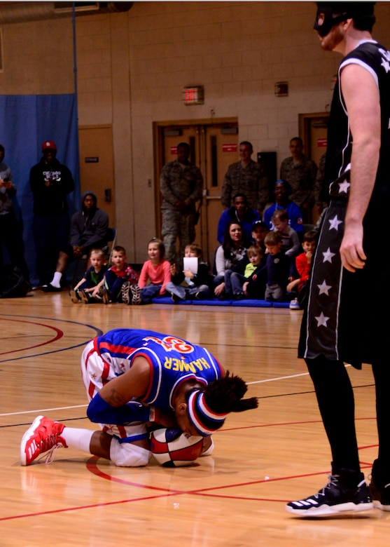 The Harlem Globetrotters; Basketball; Navy Entertainment; Armed Forces Entertainment; Osan Air Base; 51st Fighter Wing