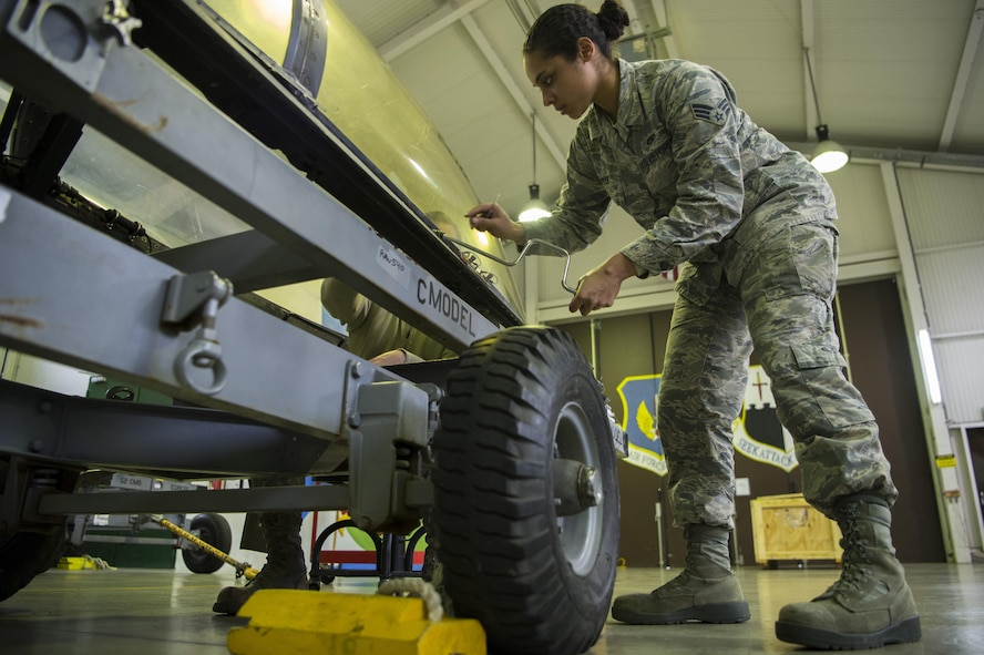 The egress shop is responsible for maintaining equipment such as ejection seats, canopies and other safety components of F-16 aircraft.