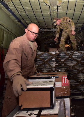 Assigned to the 165th Airlift Wing, these Airmen demonstrate the Air National Guard's dual mission of supporting state humanitarian missions at home and the federal missions abroad.