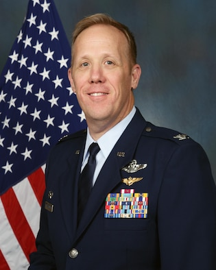 Col. Gregg J. Hesterman , 178th Wing Commander portrait