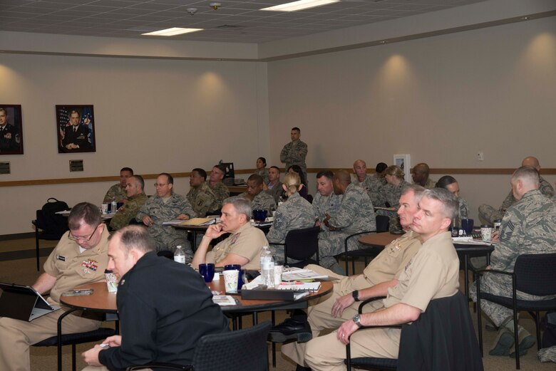 Representatives from all five branches of the U. S. armed forces, members from British Armed Forces and Australian Defence Force, held a Council on Recruit Basic Training summit Nov. 8-10 at Joint Base San Antonio-Lackland, Texas. The purpose of CORBT is to address common issues across the joint services in recruit basic military training and technical training with the goal of sharing ideas, lessons learned and procedures to improve entry-level enlisted training programs.