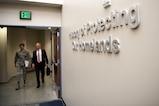 Defense Secretary Jim Mattis speaks to the commander of U.S. Northern Command.