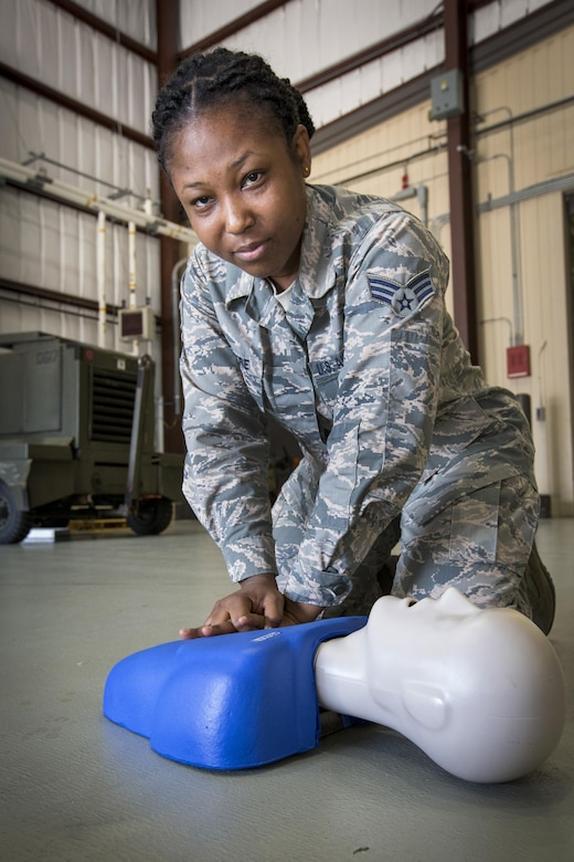 Airman seeks to build a generation of lifesavers
