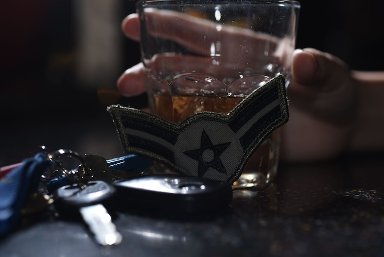The Airmen Against Drunk Driving program was established with the intent to prevent consequences from driving under the influence, and is a way for Airmen to look our for their wingmen. To volunteer for or request Grand Forks AFB's AADD services, call 70-747-2233. (U.S. Air Force photo illustration by Airman 1st Class Elora J. Martinez)