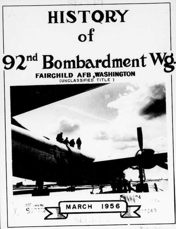 "The 92d Bombardment Wing, Very Heavy, was established 17 Nov. 1947, as the host unit at Spokane Army Air Field. The wing acted as the parent wing at Spokane AAF and provided oversight to the 98th BW which was also assigned to the base. The 92nd Bombardment Group, ""Fame's Favored Few,"" with the 325th, 326th and 327th Bombardment Squadrons and the 98th BG with the 343rd, 344th and 345th Bombardment Squadrons were assigned to the 92nd BW and 98th BWs, respectively. When they were born, they were flying the most modern bomber of the day, the Boeing B-29 Superfortress. Their combined total of 60 B-29s made the 92nd BW the largest B-29 wing in Strategic Air Command."