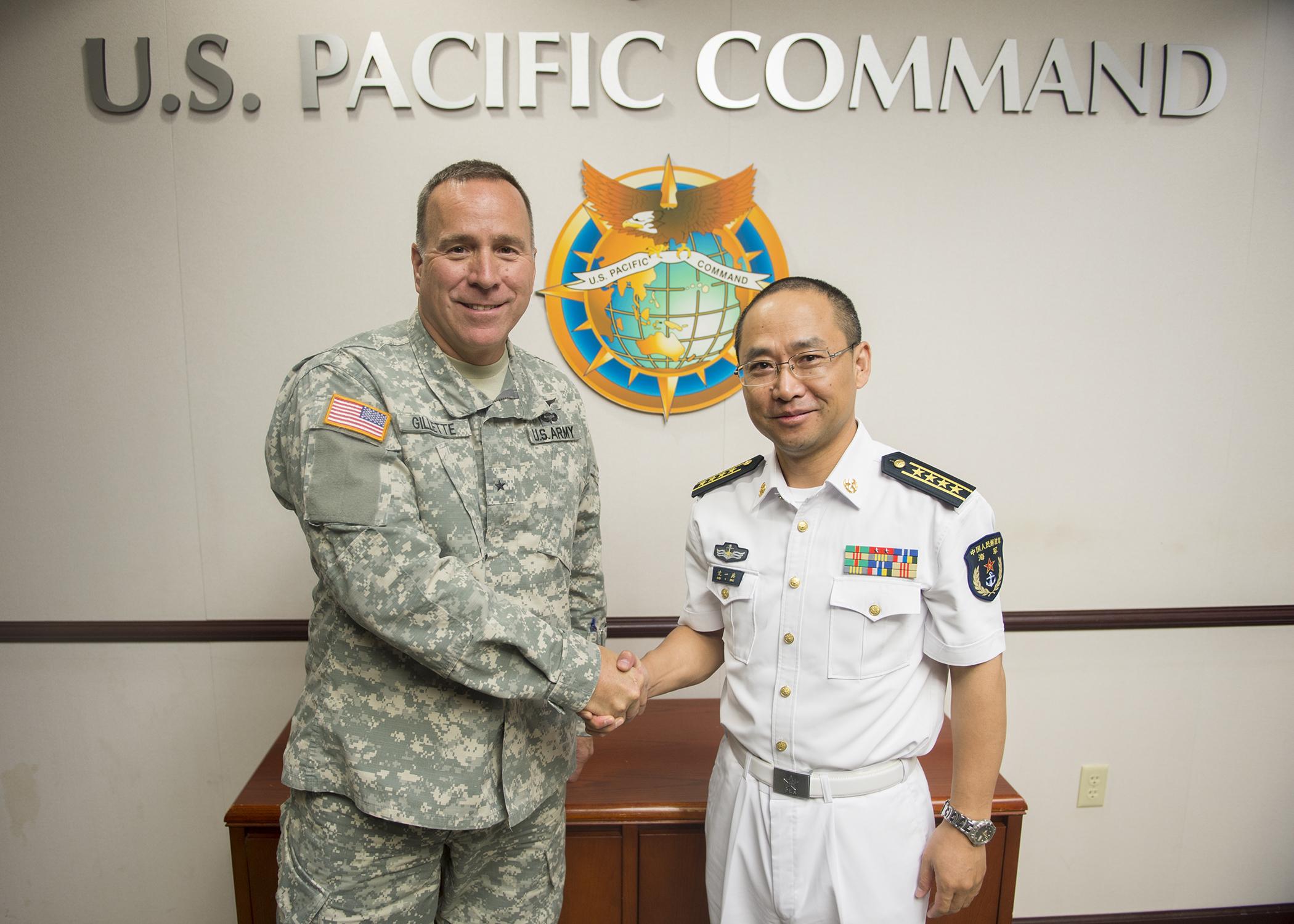 Uspacom Representatives Work With Chinese Counterparts At Military