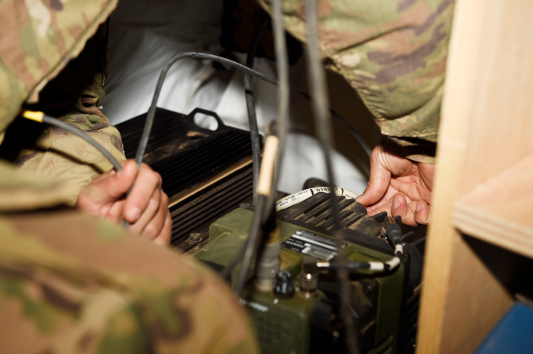 724th EABS communication squadron stays in touch with the outside world