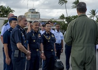 Pacific Air Forces hosts Thai Air Chief Marshal