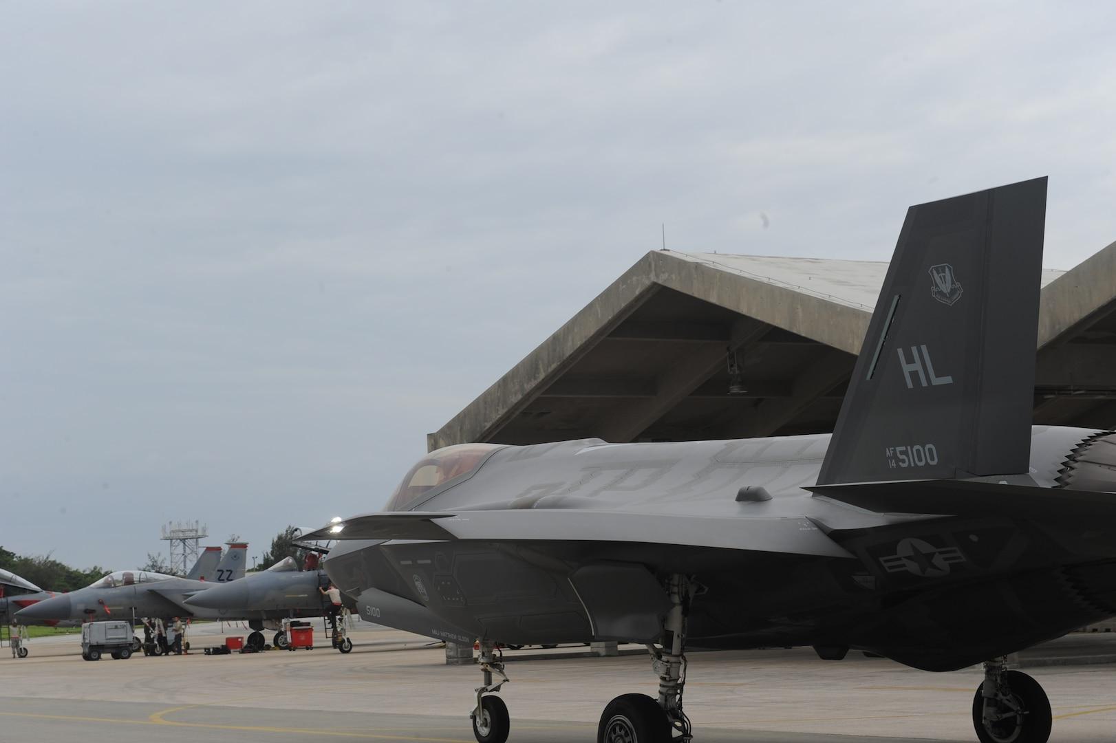 F-35A at Kadena