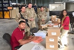 Personnel support Operation Inherent Resolve in Supply Service Activity.