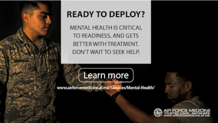 Maintaining your mental health is critical to readiness. People suffering from depressive disorders can experience slowed physical reactions, impaired judgment and indecision, all of which can risk the mission. Treatment for mental health issues can show real improvement in as little as four weeks. If you, or someone you know, may be dealing with depression, get treatment now.