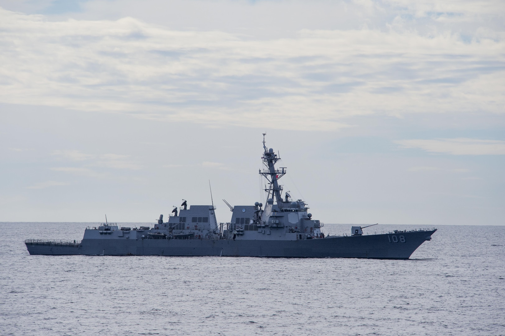 USS Wayne E. Meyer Conducts Search and Rescue