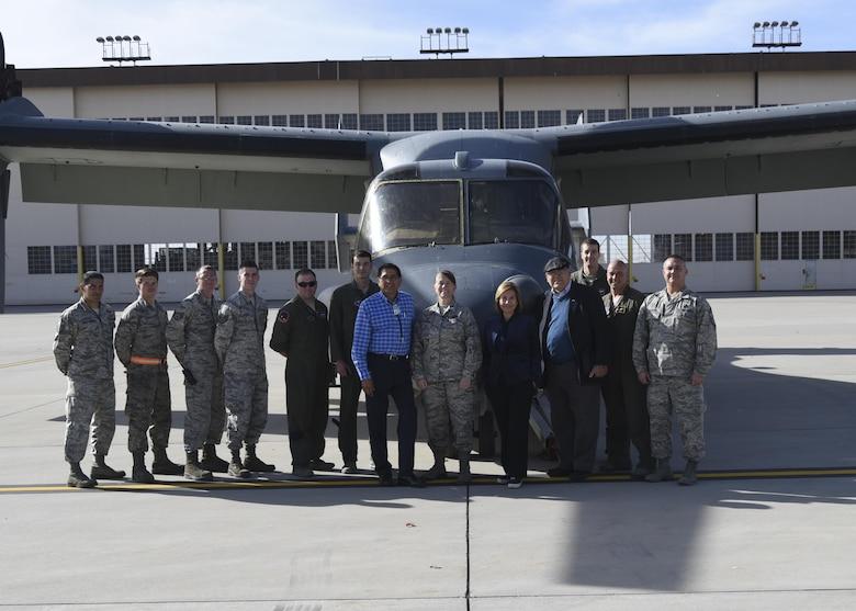 Pueblo Governor Visits Kirtland
